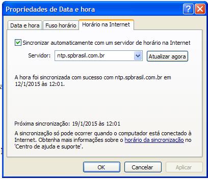 SPBrasil provedor Internet - Hora Certa